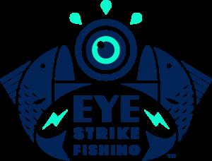 Eye strike fishing logo